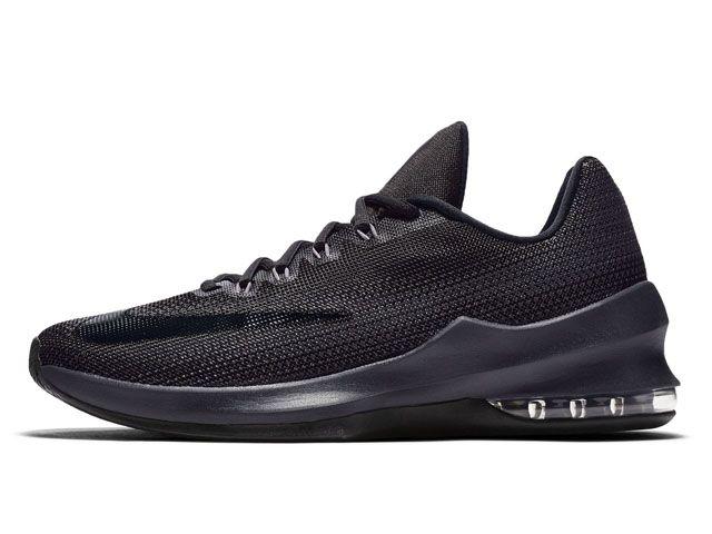 Nike Air Max Infuriate Low EP Black Anthracite Grey (866071-001) - RMKstore