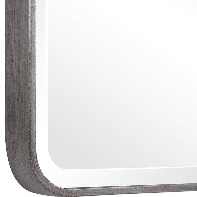 Uttermost Aramis Silver Leaf 24 X 36 Vanity Wall Mirror 78p87 Lamps Plus Vanity Wall Mirror 36 Vanity Silver