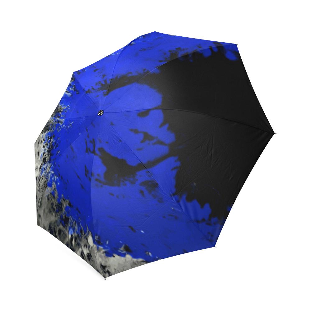 Coolstuffs Black and Gold Foldable Umbrella Travel Umbrellas for Women