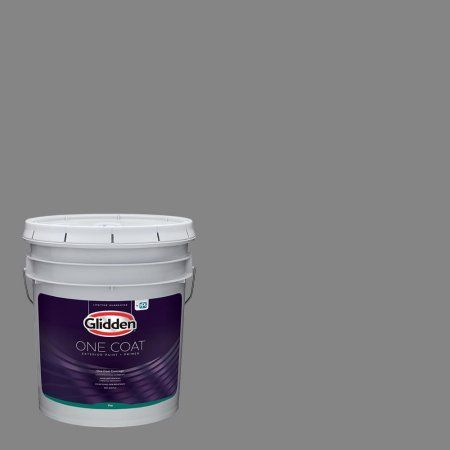 Dover Gray Glidden One Coat Interior Paint And Primer Exterior Paint Interior Paint Paint Primer