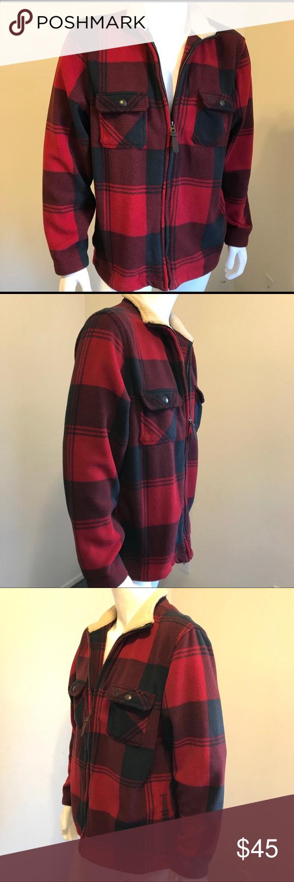 Izod Luxury Sport Buffalo Lined Jacket Large Line Jackets Clothes Design Jackets [ 1740 x 580 Pixel ]