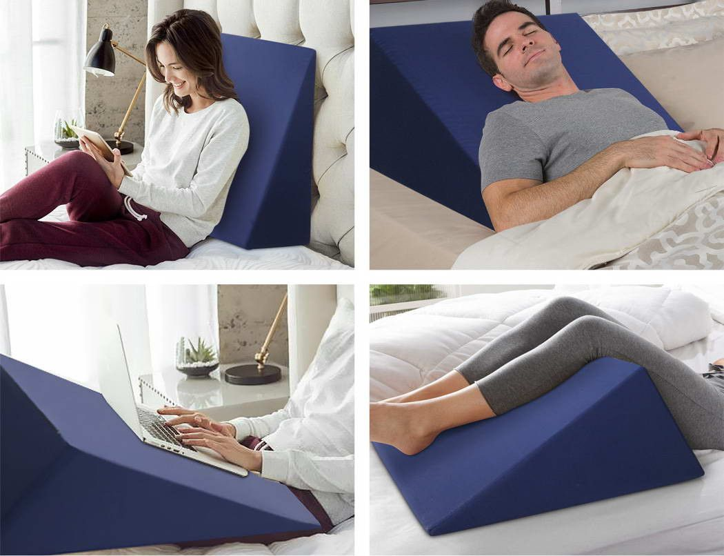 build a bed wedge in diy wedge pillow