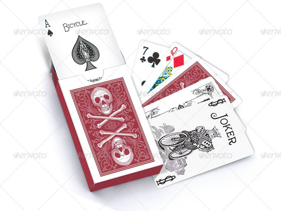 Photorealistic Playing Card Mockup Cards Cool Playing Cards Playing Cards Design