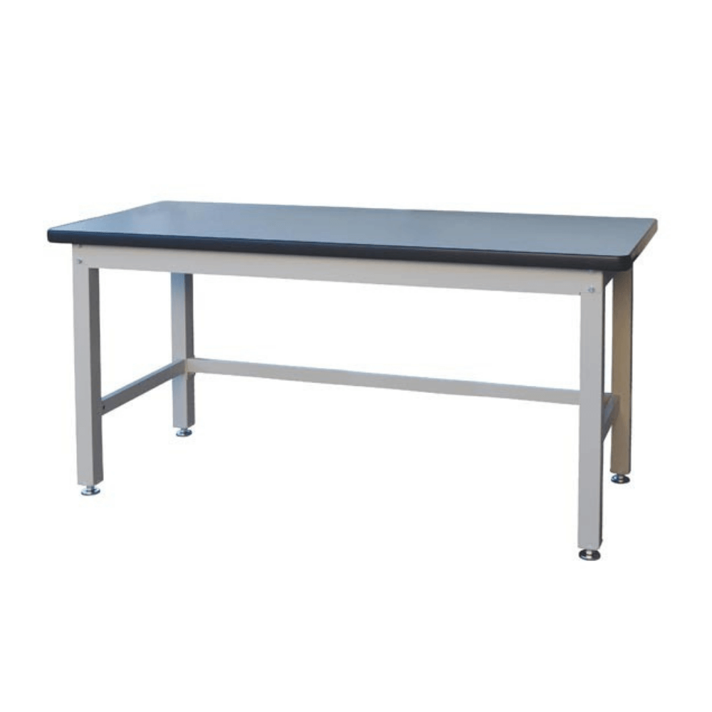 Stormax Heavy Duty 1 000kg Steel Workbench With Laminate Bench Top 1800mm In 2020 Steel Workbench Workbench Small Workbench