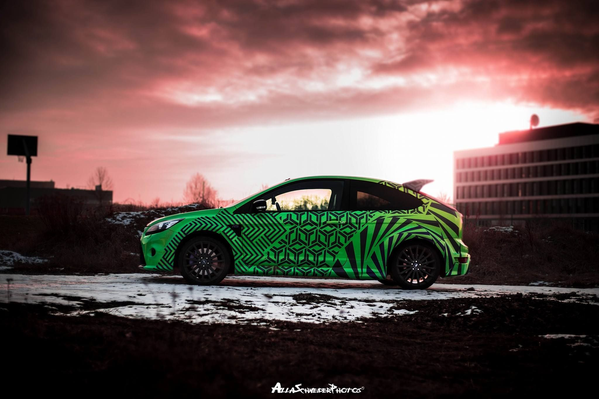 Ford Focus RS part wraps | DESIGN ATELIER TTSTUDIO | wraps ...