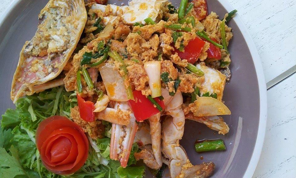 อาหารทะเล ซีฟู๊ด แนะนำย่านตลิ่งชัน เฮียชัยซีฟู๊ดเดลิเวอรี่ Tel.081-494-2837