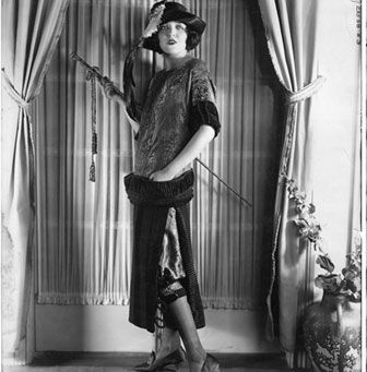 Typical chemise style of the 1920s