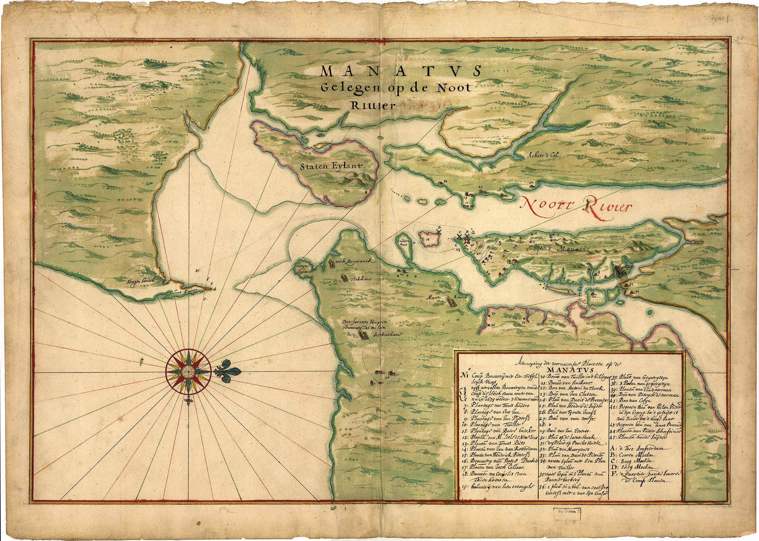 New Amsterdam in 1639 New Amsterdam in
