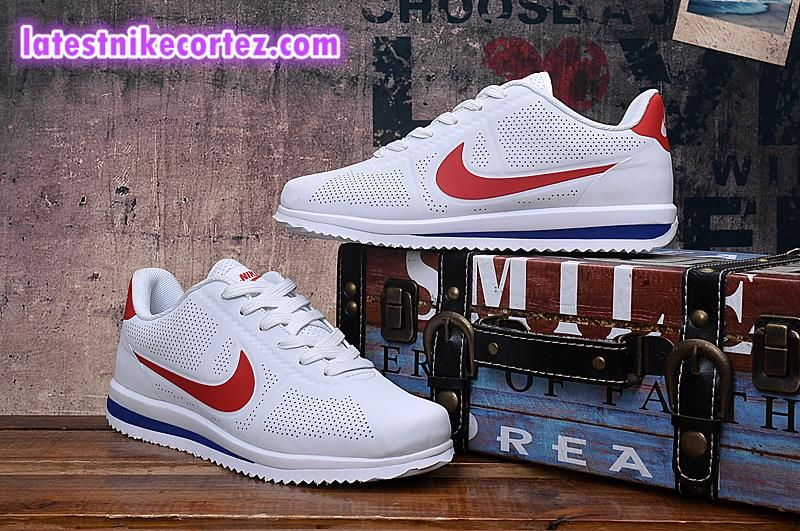 cueva Alaska Experto  New Arrival Nike Classic Cortez Ultra Moire Womens Sneakers White Red Hot  Sell | Nike classic cortez, Sneakers, Nike air shoes