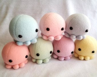 Small Squid Plush Handmade Eetu Saari Pinterest Plushies