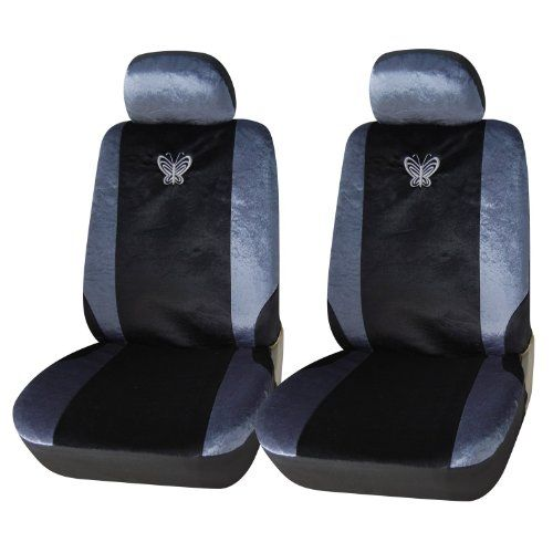 Adeco 4piece Velvet Car Vehicle Protective Seat Covers Universal