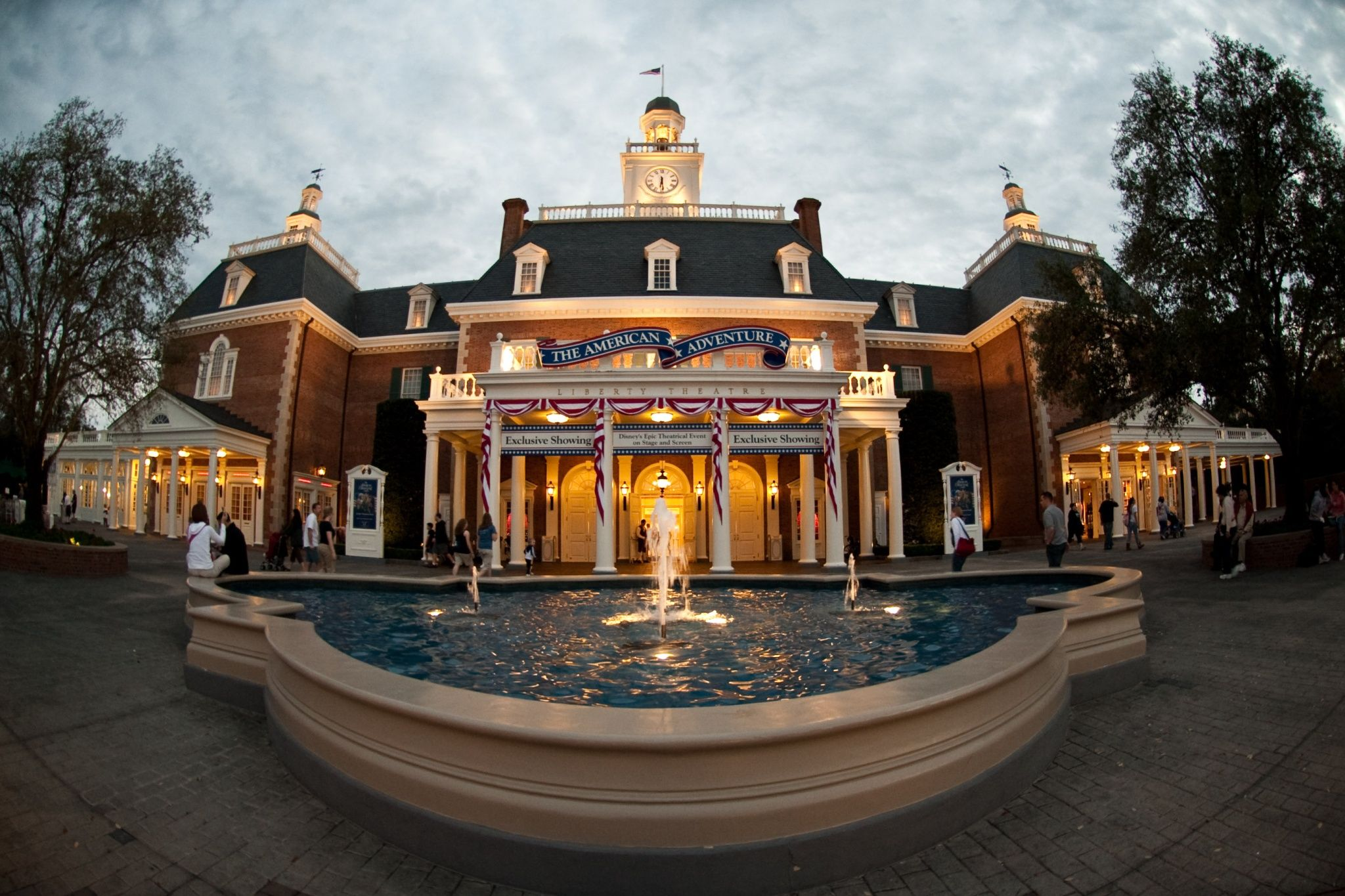 Epcot American Adventure Pavilion Epcot Walt Disney