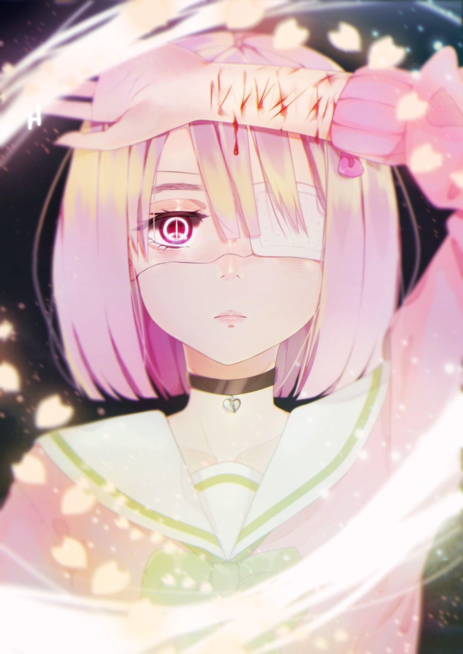 aesthetic pink dark anime aesthetic aestheticallypleasing chillvibes 美的アニメ 悲しいアニメガール ダークなアニメ