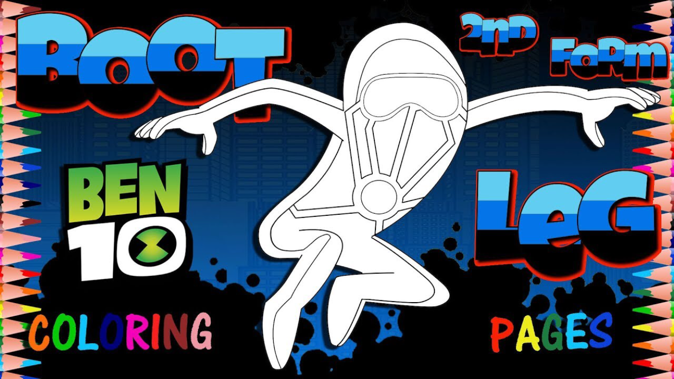 Ben 10 Reboot Kevin 11 Bootleg 2nd Form Coloring Page Coloring Books Coloring Pages Toddler Coloring Book