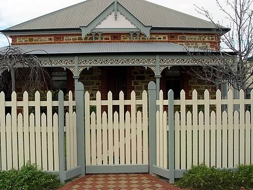 Fence Gallery Colonial Early Victorian 1860 1900