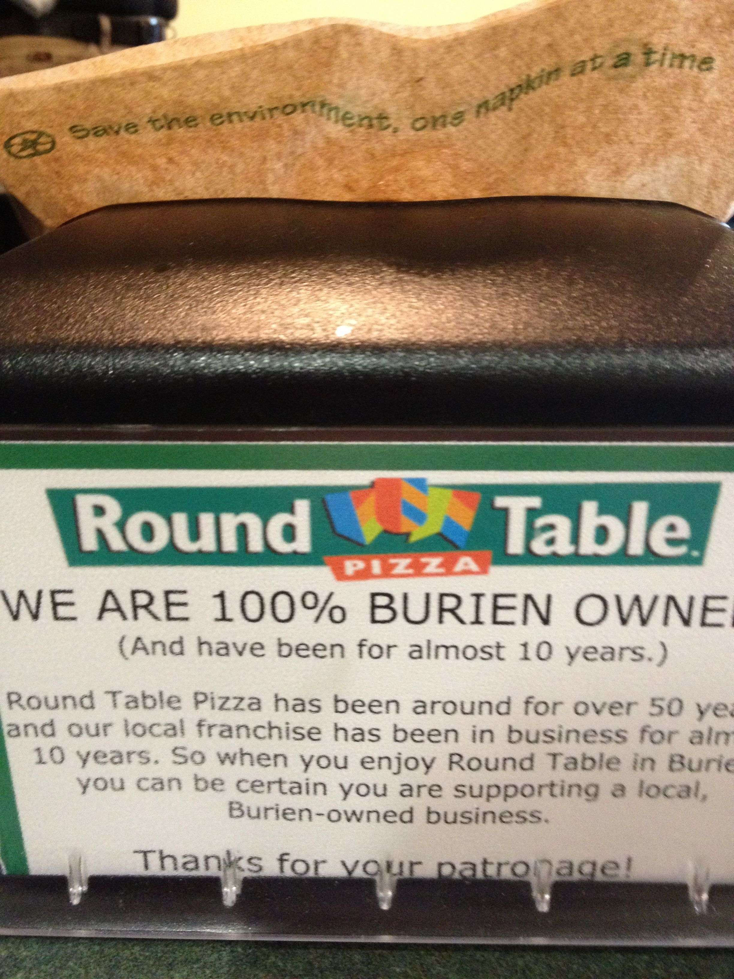 Locally Owned Burien Round Table Pizza Round Table Burien Round