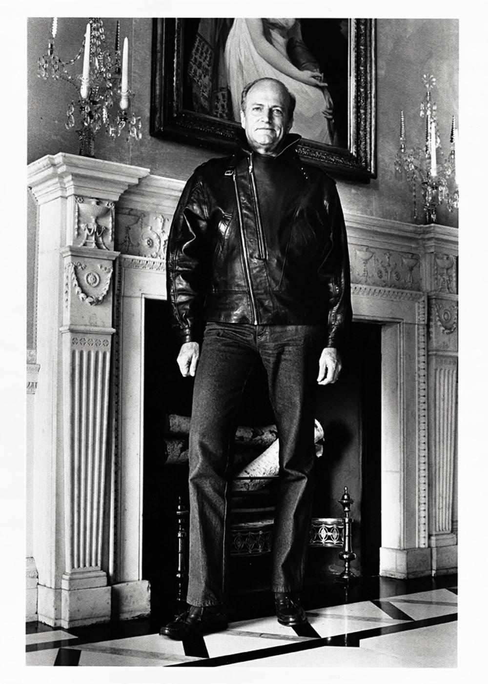 Claus Von Bulow In Vanity Fair 1985 Helmut Newton