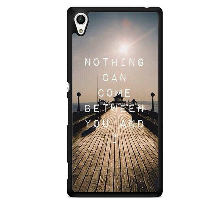 One Direction Quotes TATUM-8257 Sony Phonecase Cover For Xperia Z1, Xperia Z2, Xperia Z3, Xperia Z4, Xperia Z5