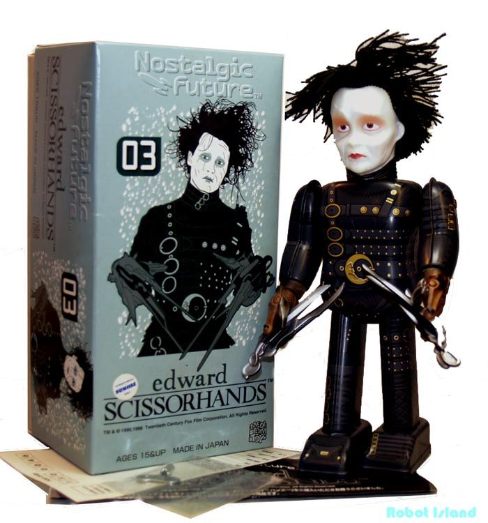 is edward scissorhands a robot