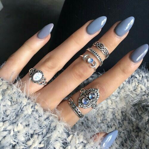 Pin by sandra flater on nailed pinterest nail inspo nail nail winter nail colors acrylic nails almond classyrounded prinsesfo Gallery
