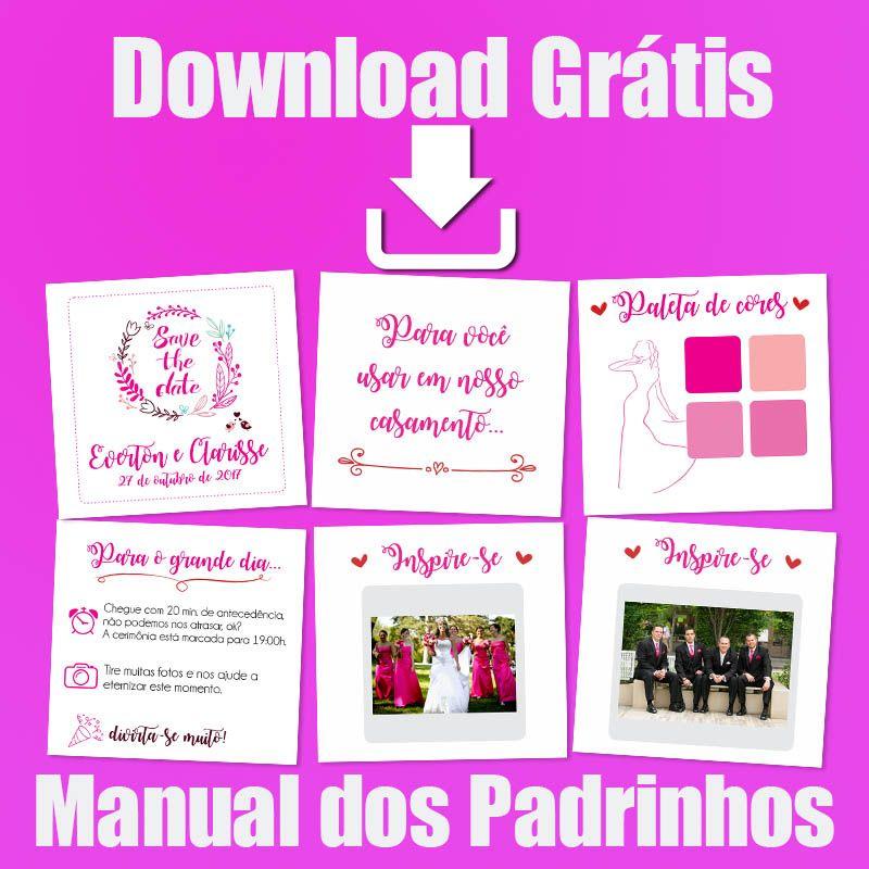 Manual Dos Padrinhos Para Download Com Imagens Convite De
