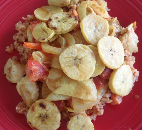 Brown Rice With Fried Bananas From Angola Recipe In 2018 African