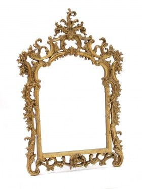 Giant Ornate Gold Wall Mirror