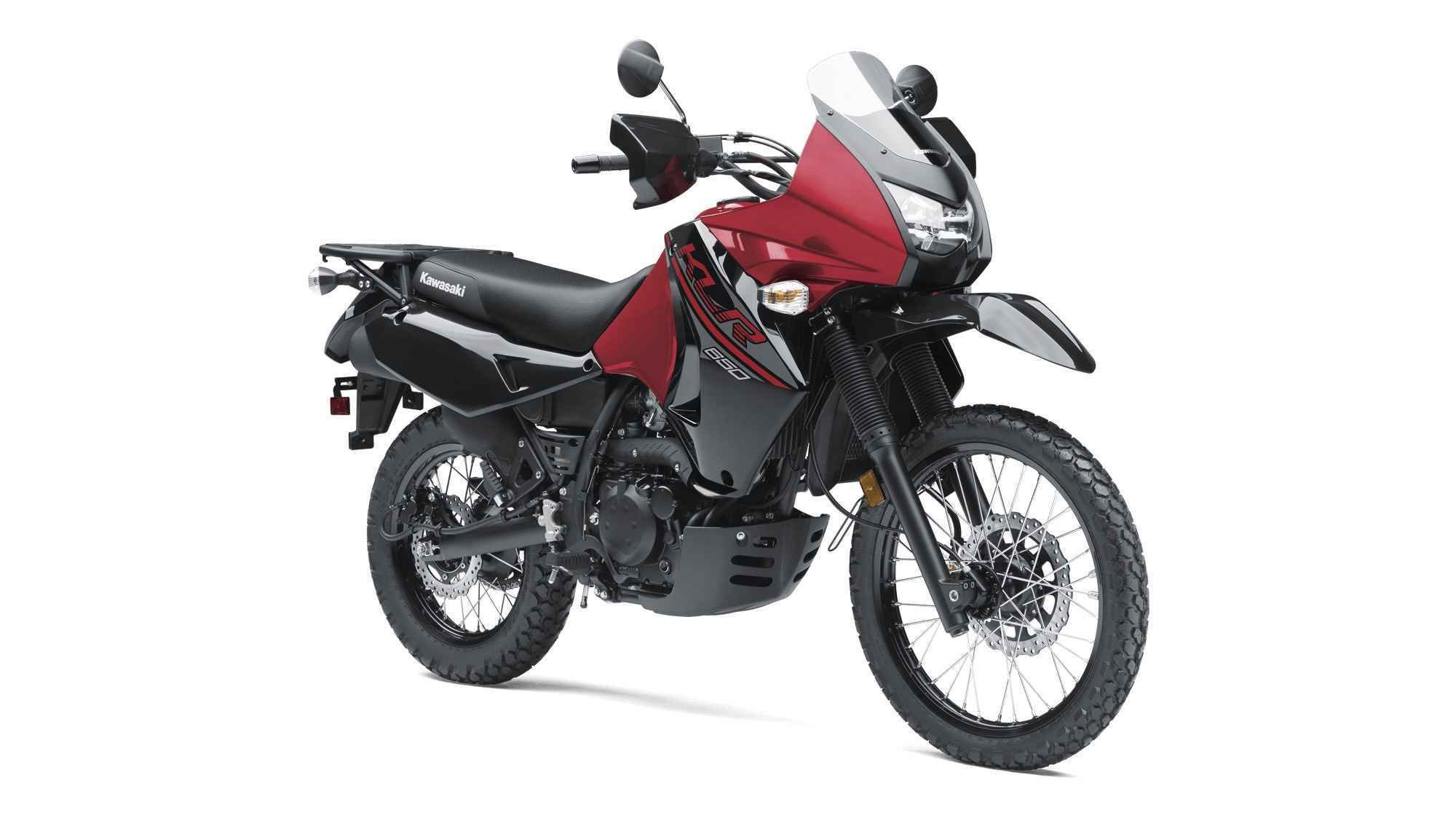 2017 Kawasaki Klr 650 Red