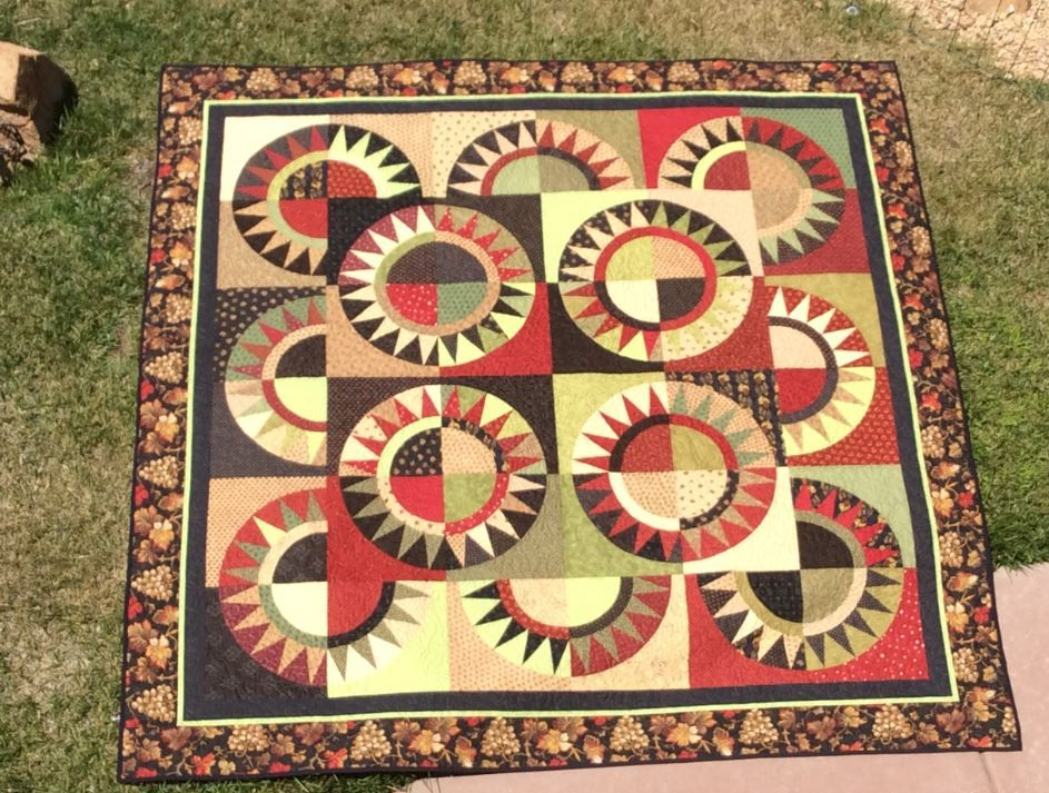 Flowers Around New York, pattern by The Quilt Patch, Moose Jaw ... : the quilting patch - Adamdwight.com