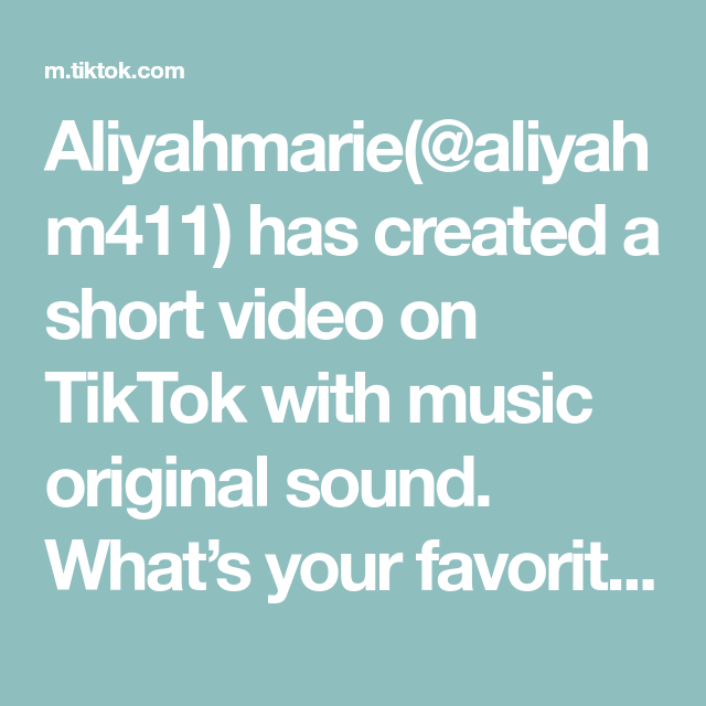 Aliyahmarie Aliyahm411 Has Created A Short Video On Tiktok With Music Original Sound What S Your Favorite Slurpy Flavor In 2020 The Originals Music Having A Crush