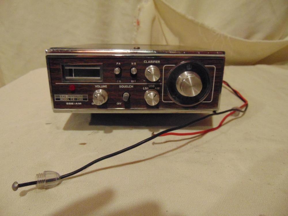 Ray Jefferson Jetronic 23 channel CB Radio made in Japan CB