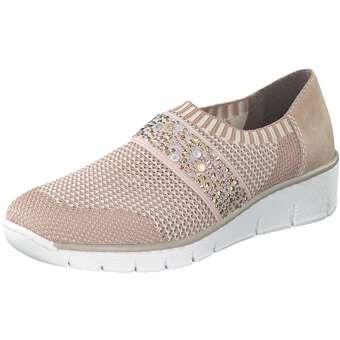 Rieker Slipper rosa | Extra Fashion