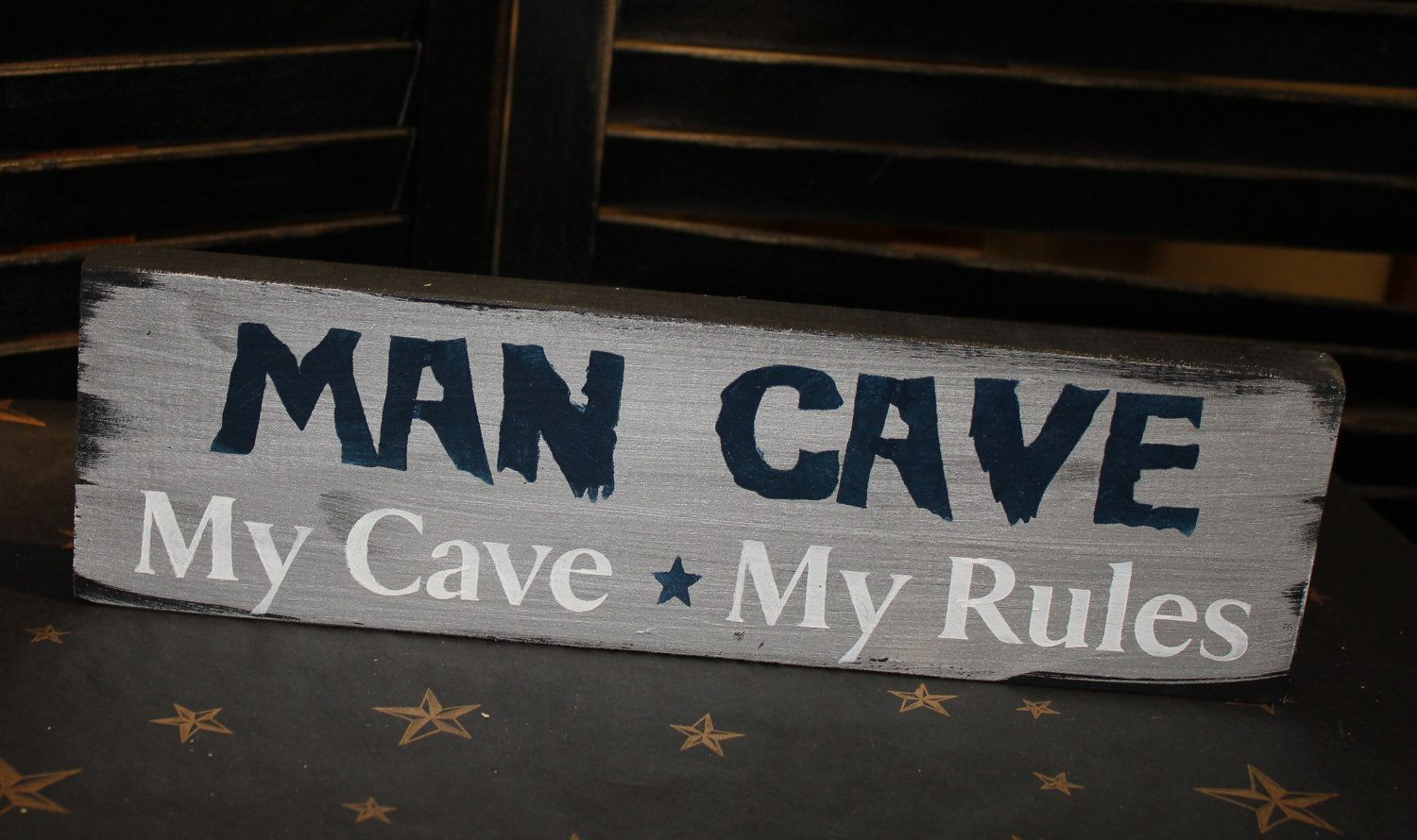 Man Cave Rules Signs : Number man cave rule sign