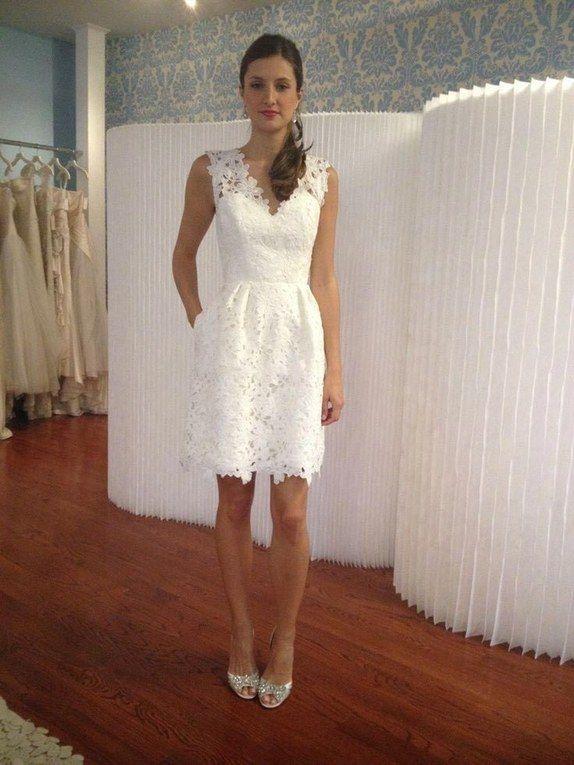 df51f15ec 50+ vestidos para casamento no civil | Short Wedding Dresses ...