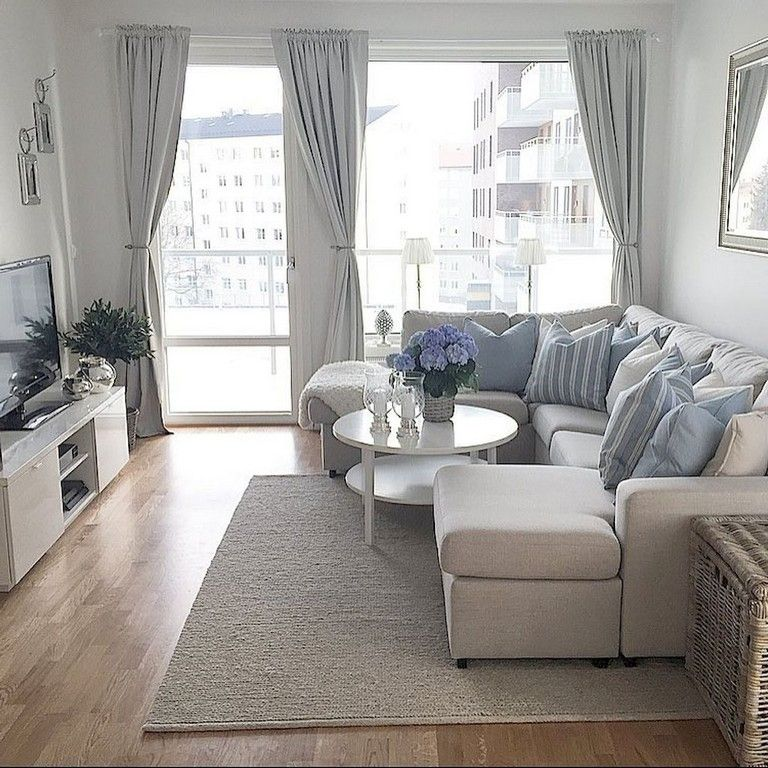 Small Apartment Living: 65+ Comfy Living Room Ideas For Small Apartments