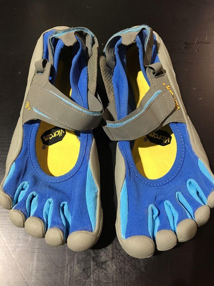 promo code 2ea51 6fdc2 Vibram Fivefingers Sprint W116 Womens EU 41 US 8 5 9 Blue Barefoot Running    eBay