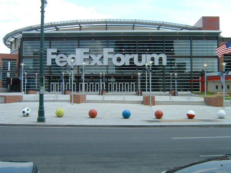 Fedex Forum Home Of The Nba Memphis Grizzlies And Major Concert Venue Memphis Memphis Tennessee
