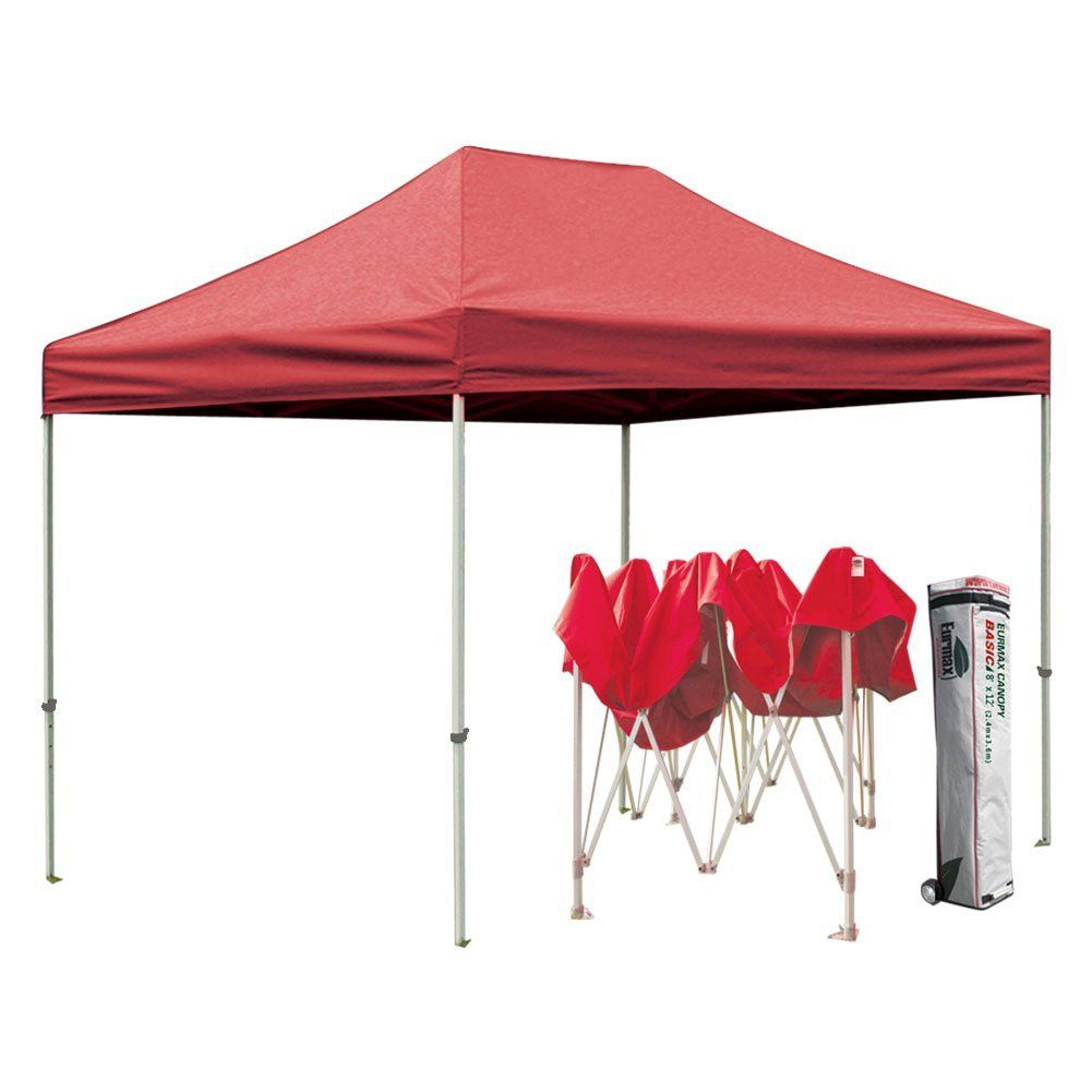 low priced d72db 1a2f1 Eurmax Basic Pop up Canopy Steel Outdoor Shelter Commercial ...