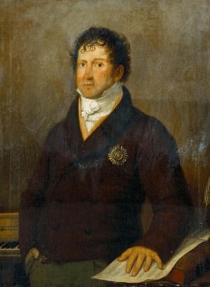 João Domingos Bomtempo (1775-1842), painting (1814), by Henrique José da Silva (1772-1834).