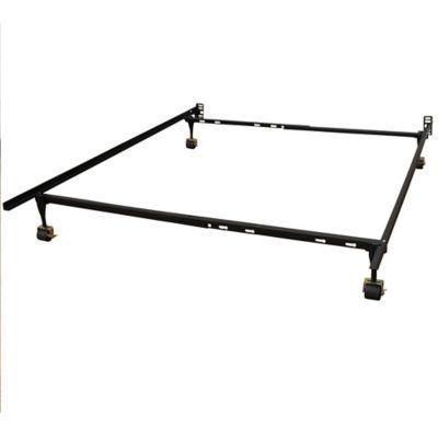 Hercules Standard Adjustable Metal Bed Frame In Black Adjustable Bed Frame Metal Bed Frame Metal Beds
