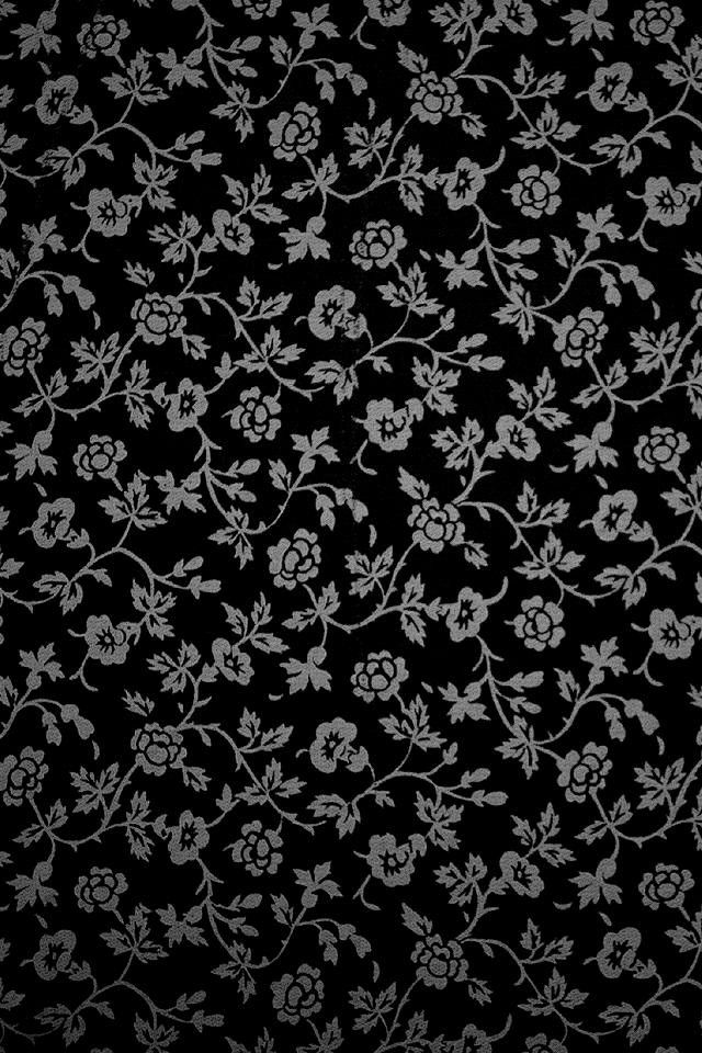 Fundos Preto E Branco Wallpaper Flores Ipad Iphone Hd