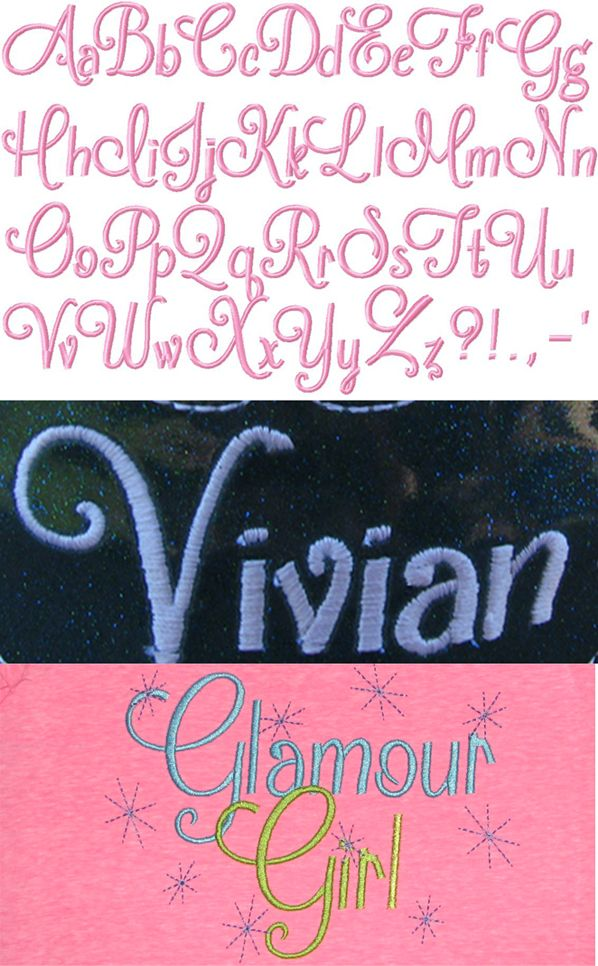 "Frosting Font 1"", 1 1/2"", 2"" & BX Files Machine"