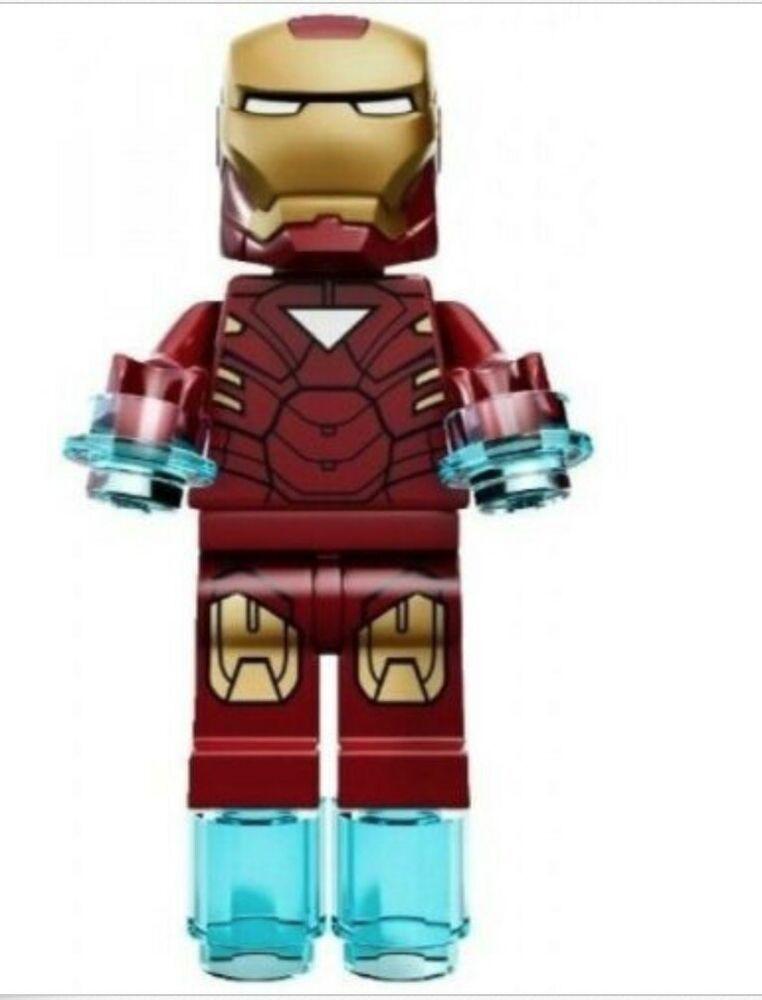 LEGO Marvel Super Heroes  Iron Man Mark 42 Armor Minifigure from set 6867