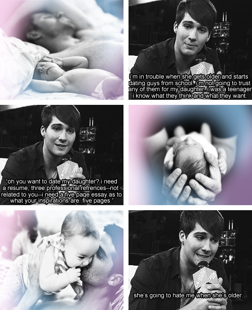 James On Being The Daddy Of A Daughter 3 He Ll Be An Awesome Daddy Big Time Rush James Maslow Imagine