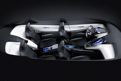 Futuristic Car, Nissan's Friend-ME Concept Car Brings Infotainment To A Focus