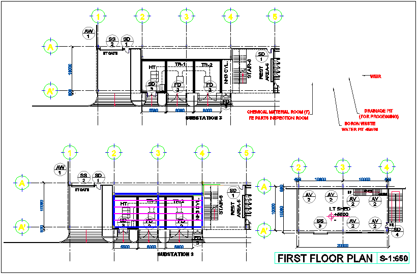 Generator Room Floor Plan | Floor plan generator, Luxury ...