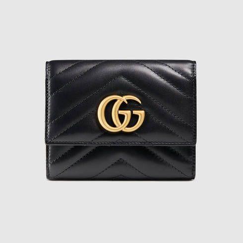 050302ba14a2 GG Marmont matelassé wallet. GG Marmont matelassé wallet Gucci ...