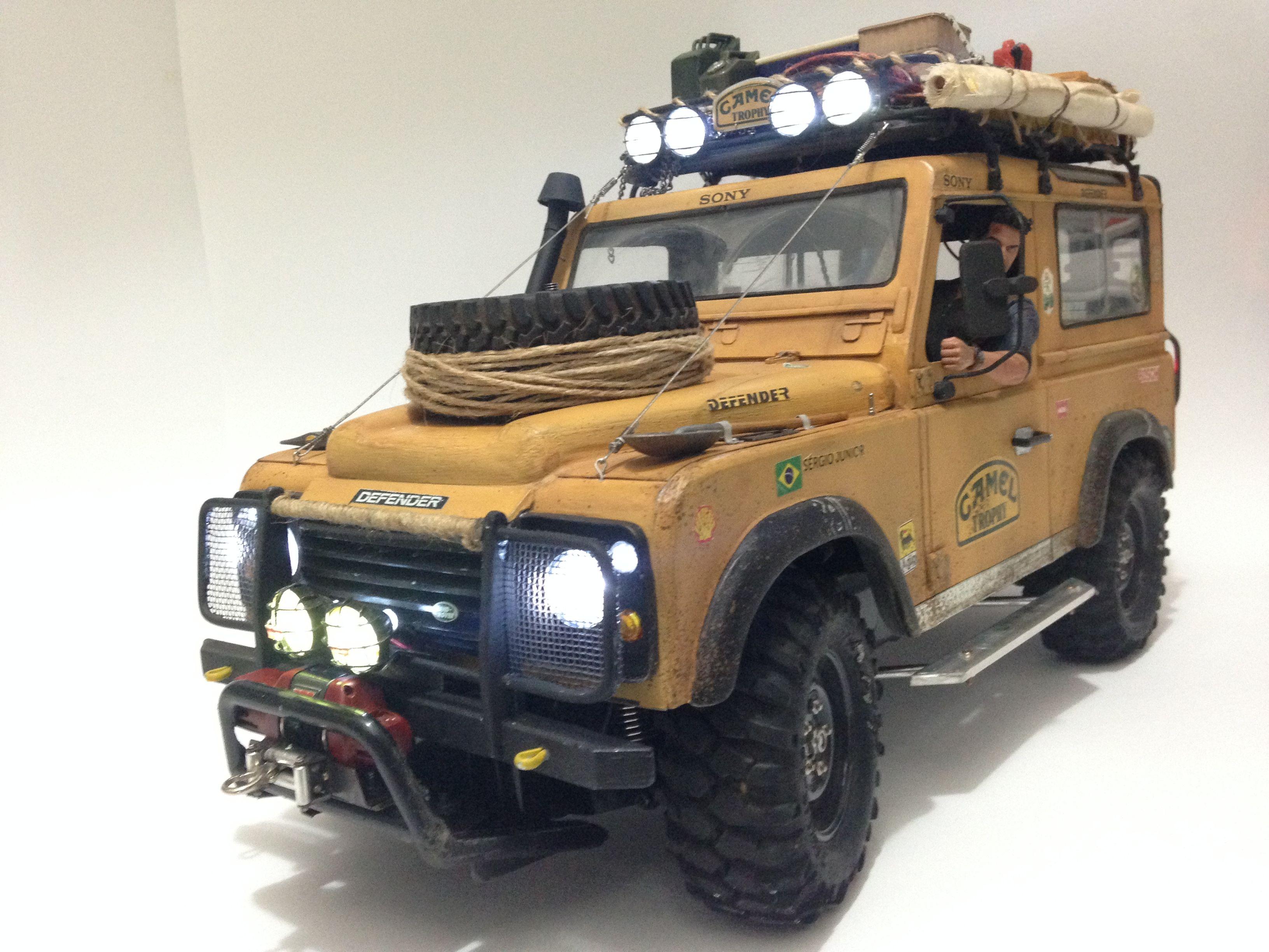 Land Rover Camel Trophy Cc01 Tamiya Rc Crawler Land