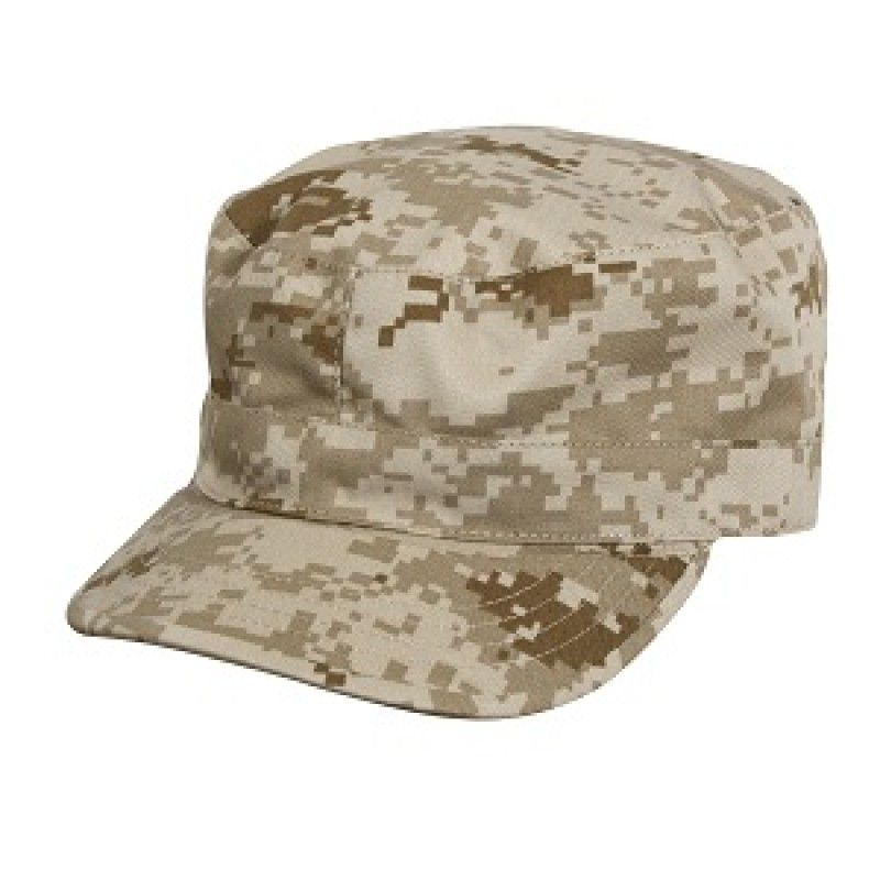 Rip Stop Army Ranger Fatigue Cap ACU Digital Camo BDU Camouflage Hat Rothco 5647