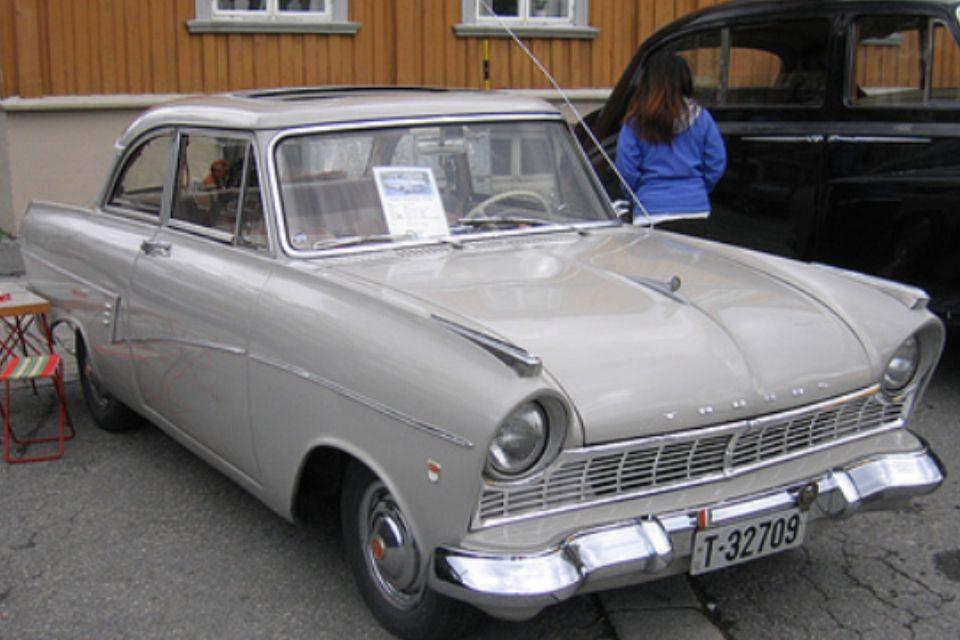 Ford Taunus 1959 Oldtimers Vliegen Auto S